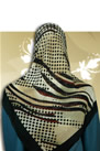 Silk Georgette squares Hijab  - turkish Hijabs